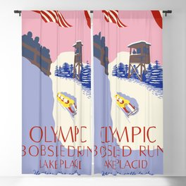 Lake Placid Olympic bobsled run Blackout Curtain