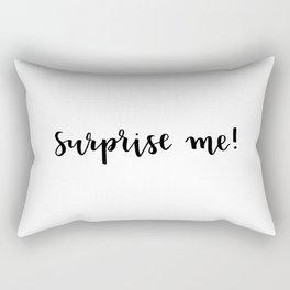 Surprise me! Rectangular Pillow