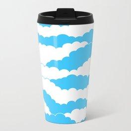 Blue Sky Metal Travel Mug