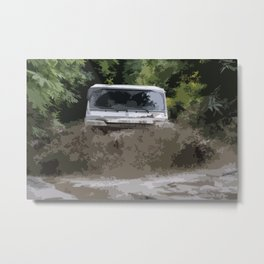 Land Rover Offroad 1 Metal Print
