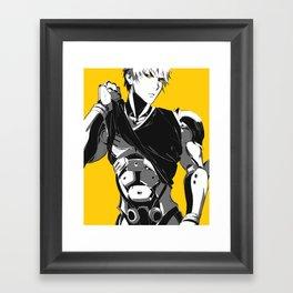 Cyborg Framed Art Print
