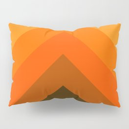 Golden Thick Angle Pillow Sham
