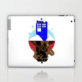 Upside Down Time Travel Laptop & iPad Skin