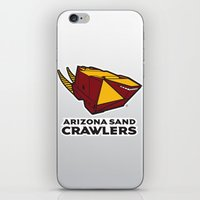 nfl iPhone & iPod Skins featuring Arizona Sandcrawlers - NFL by Steven Klock