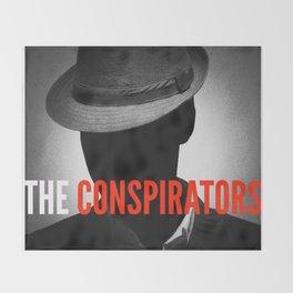 The Conspirators Podcast Show Art Throw Blanket