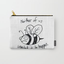 Anxiety Bee Carry-All Pouch