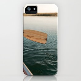 Sunrise Canoe #3 iPhone Case