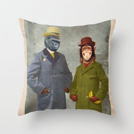 Stan & Jimmy Throw Pillow