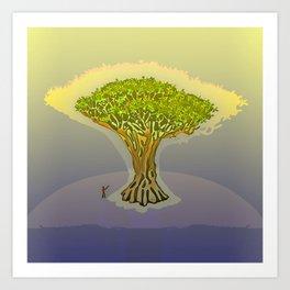 Drago / The Sacred Tree Art Print