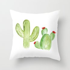 Desert Life Throw Pillow