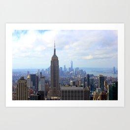 Empire View Art Print