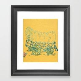 Dust and Adventure Framed Art Print