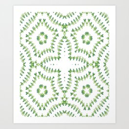 """Shamrock Heaven"" Art Print"