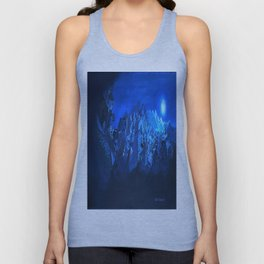 blue village Unisex Tank Top