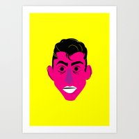 alex turner Art Prints featuring Alex Turner by AlexAzopardo