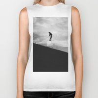 fly Biker Tanks featuring Fly by Adrian Lungu