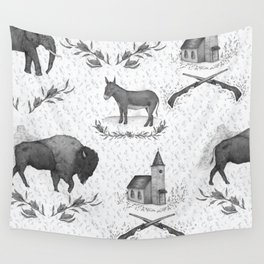 Political Toile Wall Tapestry