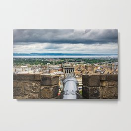 View from Edinburgh Castle, Scotland Metal Print