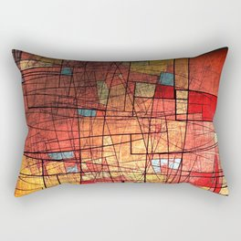 COLOR LINES Rectangular Pillow