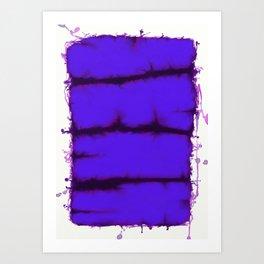 Blue element Art Print