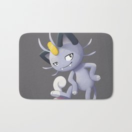 Alolan Meowth Bath Mat