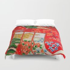 Door in the Sky Duvet Cover