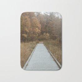 Autumn Boardwalk Bath Mat