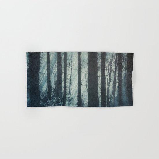 Glass Light Forest Hand & Bath Towel