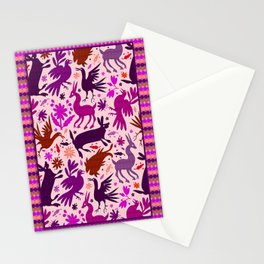 Otomi Inspiration (Pink) Stationery Cards
