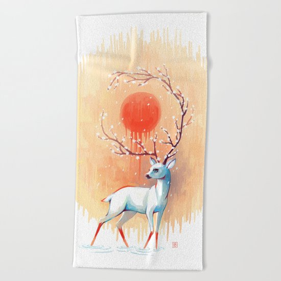 Spring Spirit Beach Towel