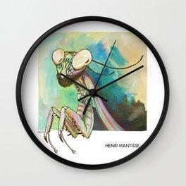 Henri Mantisse Wall Clock