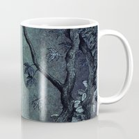 maleficent Mugs featuring Maleficent by Angela Rizza