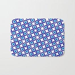 Evil Eye Pattern Bath Mat