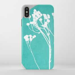 Abstract Flowers 1 iPhone Case