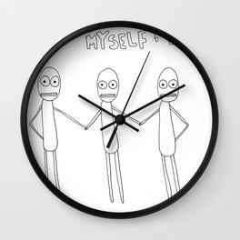 Me Myself and I Wall Clock