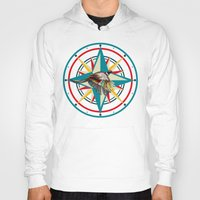 not all who wander are lost Hoodies featuring Not all those who wander are lost by milanova