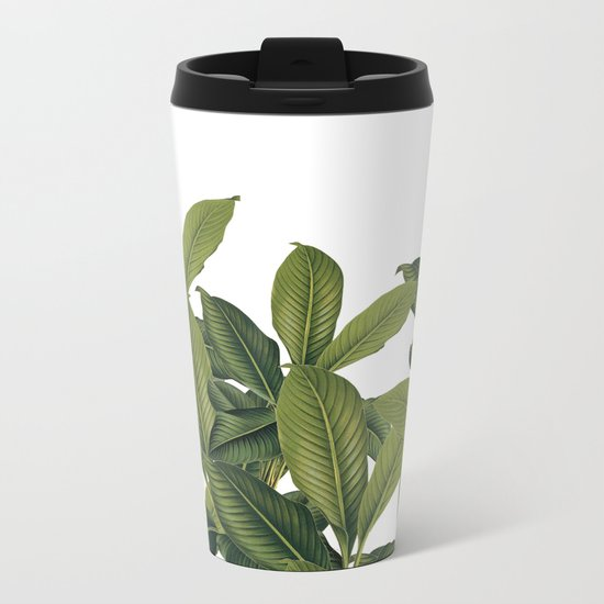 Love these leaves Metal Travel Mug