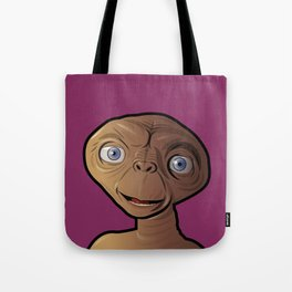Smiling ET Tote Bag