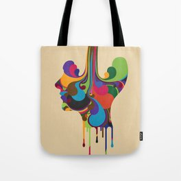 Poured Tote Bag