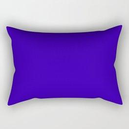 So dark Blue Rectangular Pillow