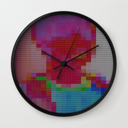 Lego Boy Wall Clock
