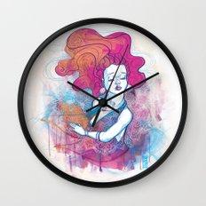 Au travers Wall Clock