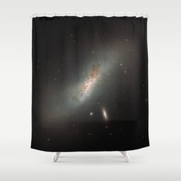 Leda NGC 4424 The Beautiful Universe Shower Curtain