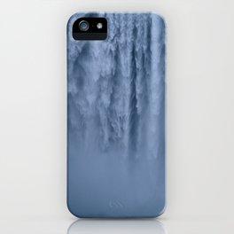 Winter at Skógafoss iPhone Case