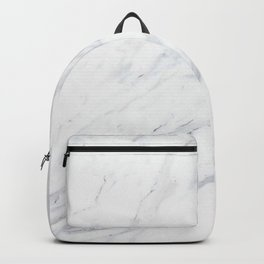Pure-White-Marble Backpack