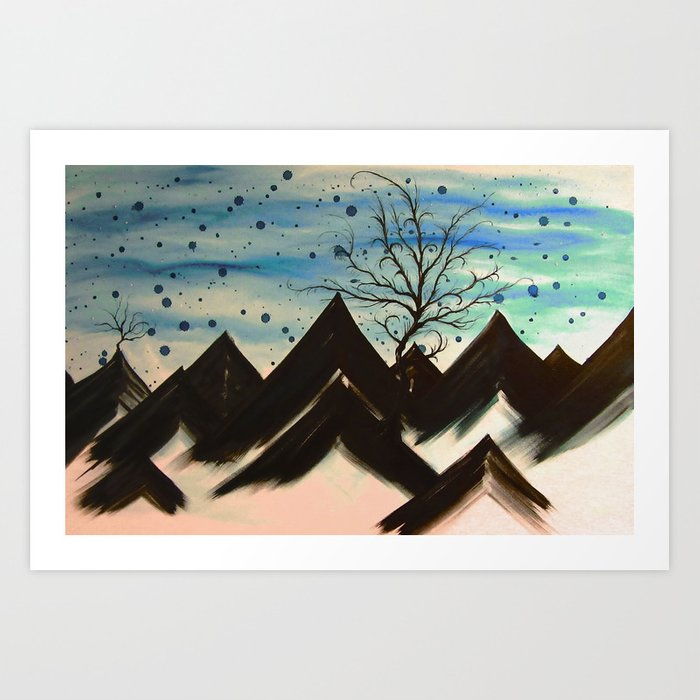 Winds of Forever Art Print