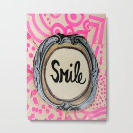 3 second smile Metal Print