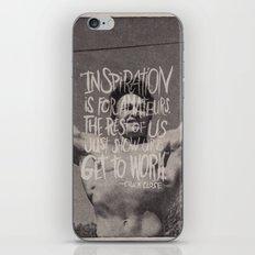 CHUCK CLOSE iPhone & iPod Skin