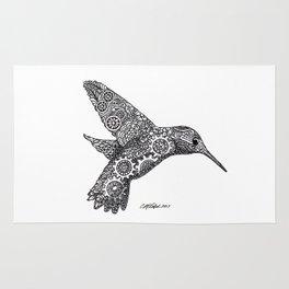 Clockwork Hummingbird Rug