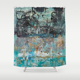 Dreadful Anticipation Shower Curtain
